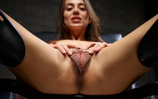 Brunette Fucking Big Dick
