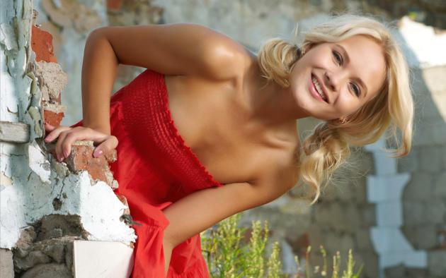 Talia, Blonde, Outdoor, Talia Cherry, Talia Blonde, Blonde Goddess,