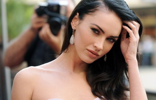 megan fox, actress, model, brunette, star, perfect lady