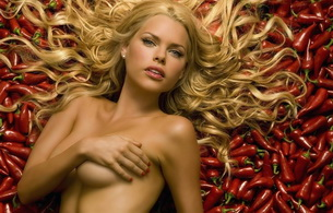 blonde, pepper, naked