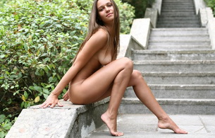 nude, vita a, hottie, vita, stairway to heaven, tits, legs, tanned, sexy legs