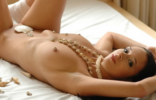titts, bed, naked, nude, boobs, beads, brunette, gwen a, gwen, pia, lying, anna, fiona, kiera, laura, melinda, vendula, wendy