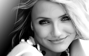 cameron diaz, actress, smile, blonde