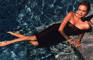 charlize theron, water, actress