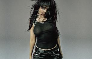 christina aguilera, singer, brunette