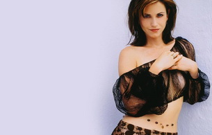 courteney cox, actress, brunette