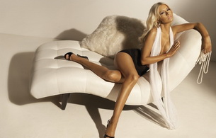 blonde, lingerie, christina aguilera, celebrity, blonde, sexy babe, posing, sitting, sofa, erotic, legs, high heels, real celebs wall