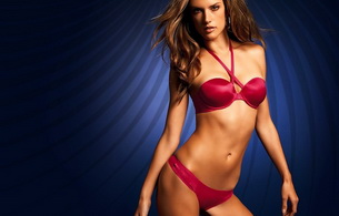 lingerie, model, alessandra ambrosio