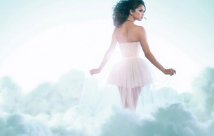 brunette, dress, sky, selena gomez, teen, hot