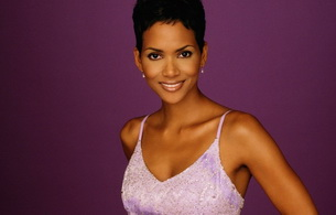 halle berry, actress, brunette, black, smile