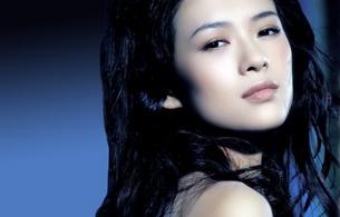 brunette, asian, zhang ziyi, actress, beautiful, face