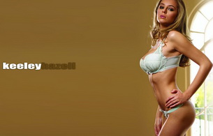 lingerie, keeley hazell, model, blonde