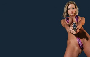 nude, titts, pussy, gun, penny mathis