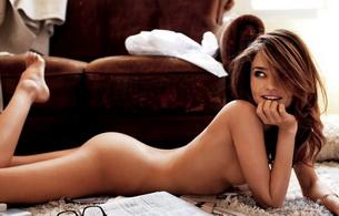 miranda kerr, model, nude, aussie, natural beauty, ass, tits
