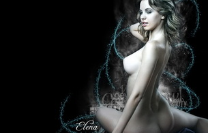 elena, nude, ass, titts