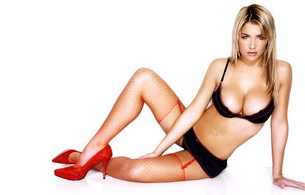 blonde, stockings, lingerie, gemma atkinson, boobs, bra, hot