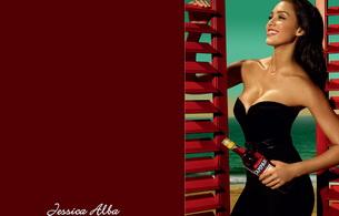 jessica alba, actress, brunette, smile