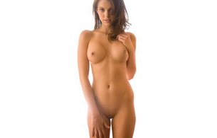 nude, brunette, titts, pussy, vagina, sexy, bethanie badertscher, minimalist wall, background, sexy babe, long hair, nice tits, nipples, shaved, cunt