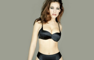 kelly brook, model, actress, lingerie