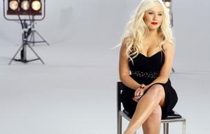 christina aguilera, singer, blonde, smile