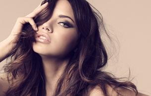 adriana lima, model, brunette