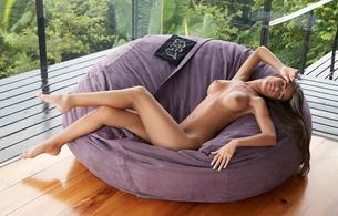 sexy, babe, couch, nude, tits, nessa devil, nessa, katrina, lenka, nessa a, nikki, nikola