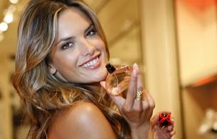 smile, alessandra ambrosio, model, parfume