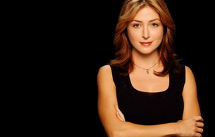 sasha alexander, actress, smile