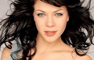 jessica schwarz, actress, brunette