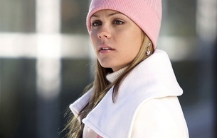laura vandervoort, actress, blonde, hat, skinny, delicious, sexy, perfect girl, beautiful, beanie