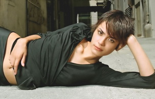 shannyn sossamon, actress, brunette