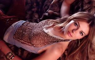 elizabeth hurley, actress, model, long hair