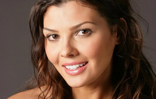 ali landry, model, actress, smile, brunette