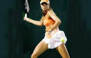 daniela hantuchova, sporty, tennis, blonde, skirt, hat