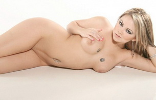 julia bond, nude, blonde, tits, boobs, tattoo, piercing, shaved, sexy, beauty