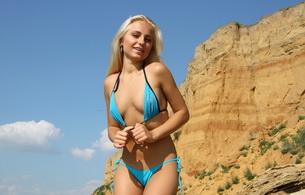 gerra, blonde, swimsuit, beach, outside, cute, sexy, gerra a, elena a, gera, hella, katerina, katrina, lika, malisha, tess