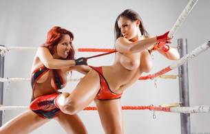 big tits, girls, redhead, boobs, fight, latex, aria giovanni, bianca beauchamp, wrestle, wrestling, 2 babes, latex, lingerie, canadian, model, redhead, sexy babe, fetishqueen, bianca and aria