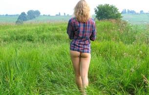 erotic, sexy, nude, wild eva, amelie yuliya, nature, nature