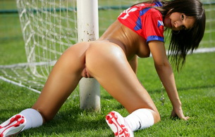 ass, pussy, butt, brunette, boobs, soccer, monika vesela, oiled, tanned, tits, labia, football, nikes, sporty, hamburger pussy, drop dead gorgeous, natural beauty, kiki klement, top up, looking back, love czech girls, great body, sports