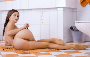 sexy, ass, beautiful, caprice, hot, pussy, sexy, nude, naked, butt, bathroom, little caprice