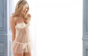 candice swanepoel, blonde, pretty, sexy, white, sheer