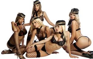 actress, model, porn, arnav, five, group, stockings, uniform, fly girls, janie summers, jesse jane, katsuni, raven alexis, riley steele, 5 babes, erotic, lingerie series