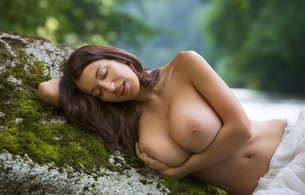 sexy, girl, hot, babe, boobs, tits, bust, big tits, nipples, navel, outdoors, jana defi, juicy, brunette, beauty, melons, jugs, norks, gazongas, knockers, hooters, funbags, glamour, natural mindblowing boobs, maria swan, super boobs, heavy artillery