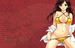 fantasy, girl, bikini, anime