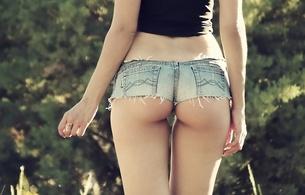 ass, shorts, booty, butt, cutoff shorts, denim shorts, short shorts, jean shorts, perfect ass, jeans shorts