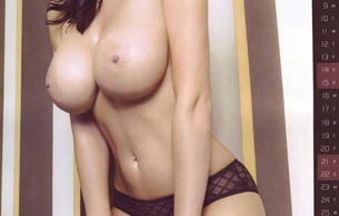 alice goodwin, brunette, tits, big tits, boobs, big boobs