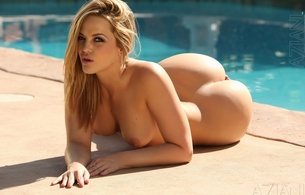 alexis texas, ass, blonde, horny, tits, nice ass, pool, nude, boobs, hot