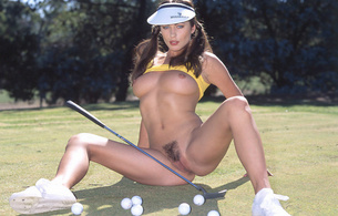 kyla cole, model, diva, sexy, babe, pubic hair, golf, sun, pussy, muff, labia, hairy, trimmed pussy, boobs, tits