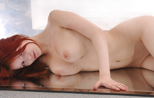 ulya, redhead, metart, met-art, hi-res, mirror, model, girl, tits, red, juicy, redhair, beauty, hot