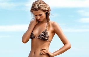 bikini, toni garrn, model